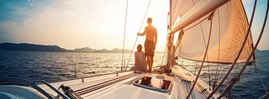 Plaukimas laivu ir jachta