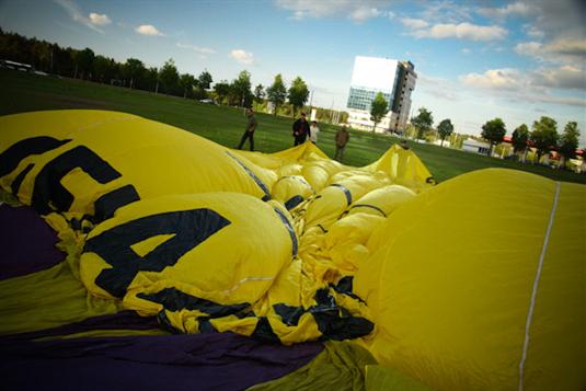 Ore pasirodė geltonas drambliukas! (nuotraukos)