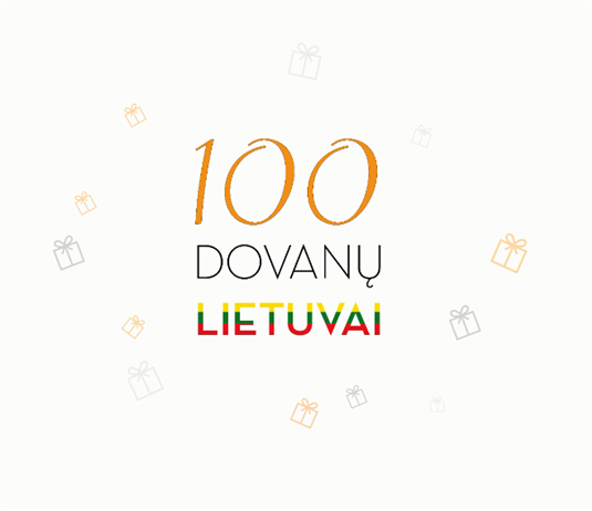 100 DOVANŲ LIETUVAI