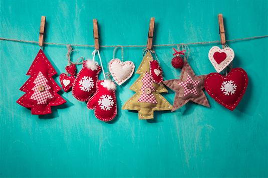 Puošiame namus - kalėdinės dekoracijos namams