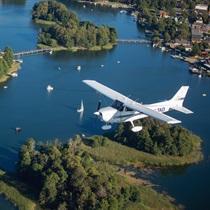 """Skrydis lėktuvu """"Trakai ir 19 ežerų"""""""