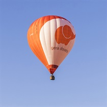 Skrydis oro balionu vaikui