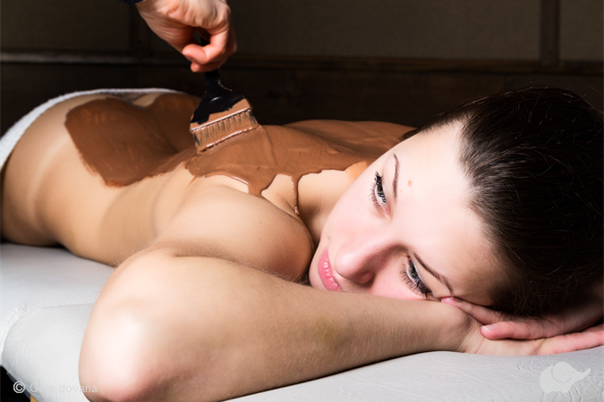 Šokolado SPA procedūra + įvyniojimas