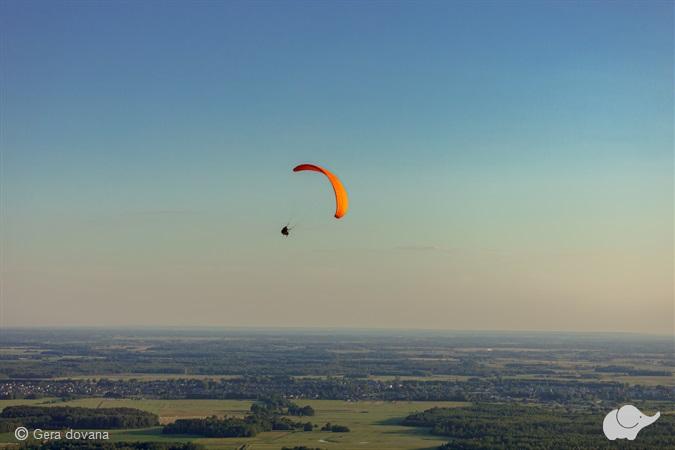 Aukštuminis skrydis parasparniu