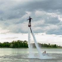 Skrydis vandens skraidykle