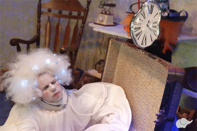 Spektaklis vaikams apie Vaiduokliuką: online