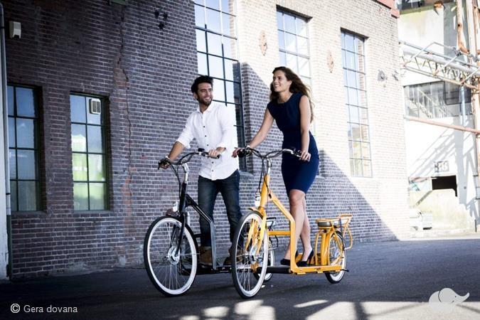 Pasivažinėjimas elektriniu LOPIFIT dviračiu