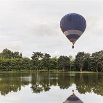 Skrydis oro balionu virš Suvalkijos