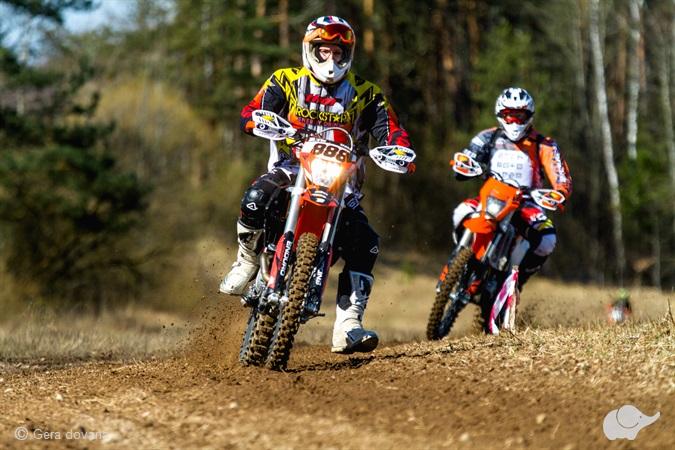 Išmok suvaldyti KTM enduro motociklą