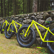 """Žygis """"FatBike"""" dviračiu"""