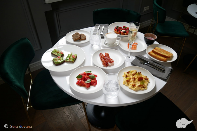 "Pusryčiai dviem restorane ""Vila Komoda"""