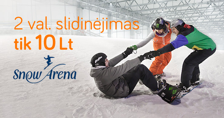 Snow arena akcija